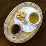 Espresso coffee and tea - 212762420