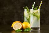 Tarragon lemonade drink - 212767020