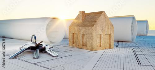 Foto Murales Stimmung - Konzept eigenes Heim in Planung