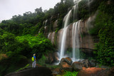 Tad-Wiman-Thip waterfall, Beautiful waterwall in Bung-Kan province, ThaiLand.