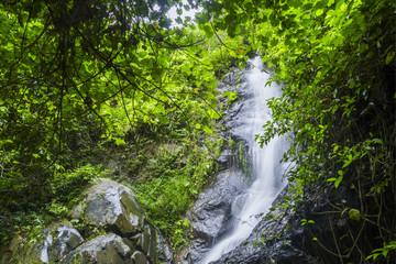 water fall at Wlang Ko Sai National Park, Lumpang province, Thailand