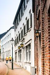 VAALS, THE NETHERLANDS - June 10, 2018: Street view of vaals city, Netherlands © ilolab