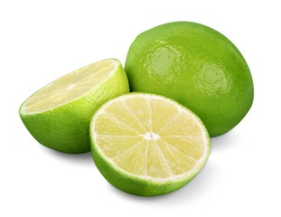 Citrus (Limes) - isolated image