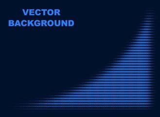 Abstract background. Dark blue. Vector