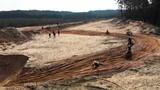 Motocross race drone shot - 212783842