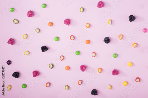 Sweets and jelly beans