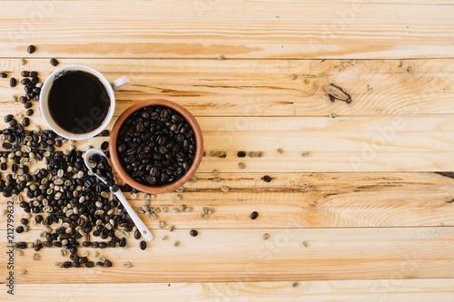 Aluminium Koffiebonen Tea time