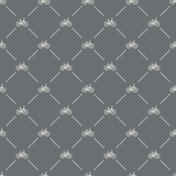 seamless bike pattern on a dark background. bike icon creative design