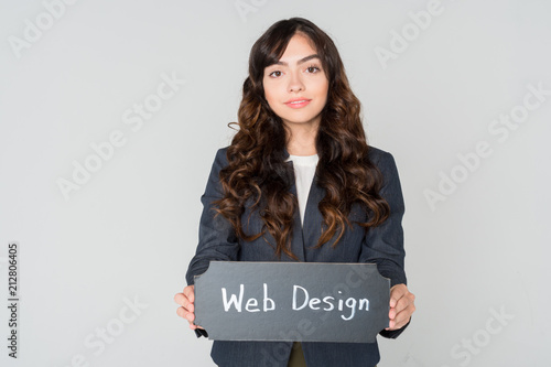 Hispanic Female Businesswoman