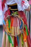Detail of Italian folk costume for woman - 212818294