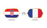 England versus France soccer match vector. - 212824026