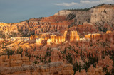 First sunlight in Bryce Canyon, Utah - 212841025