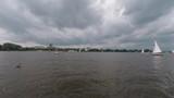Lake Alster in Hamburg Time Lapse - 212851637