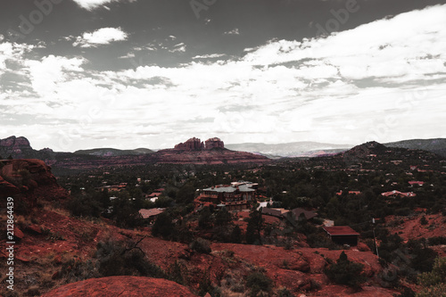 Fotobehang Zwart Sedona, Arizona, USA