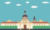 Palace, vector illustration - 212865425