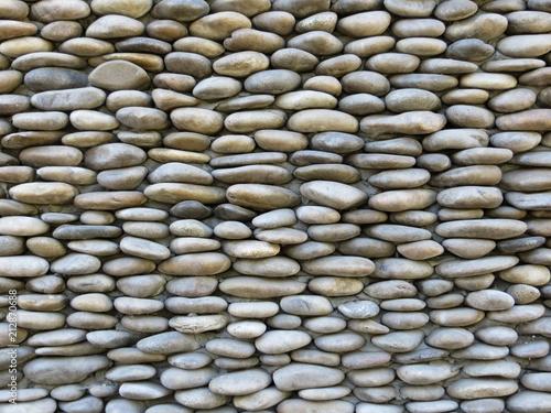 Fotobehang Stenen Stone wall texture