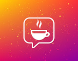 Coffee cup icon. Hot tea drink sign. - 212882869