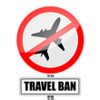 Travel Ban Sign