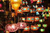 Colorful Eastern lanterns