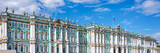 Panorama of the State Hermitage museum in St Petersburg, Russia - 212900697