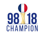 FOOTBALL FRANCE - Champion Anniversaire 1998-2018 - 212907835