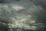 Closeup storm cloud before rainy, Motion black cloud in summer - 212919452