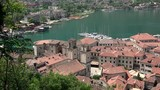 View of Kotor old town with  yachts at the marina. Montenegro - 212935242