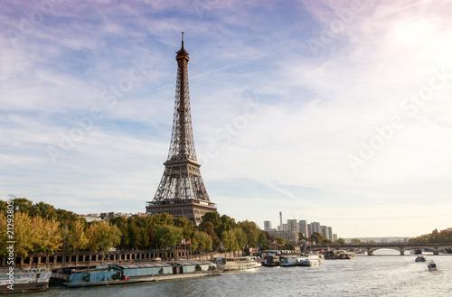 Fridge magnet Beautiful Paris landscape