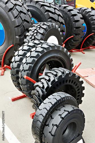 Aluminium Trekker Tires of different sizes for tractors in store