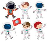 A Set of Astronaut