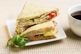 Croque Monsieur - Classic French Bistro Sandwich - 212954272