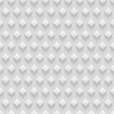 White seamless modern texture with rhombuses. Vector background