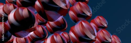 абстракция с шарами - 212979254