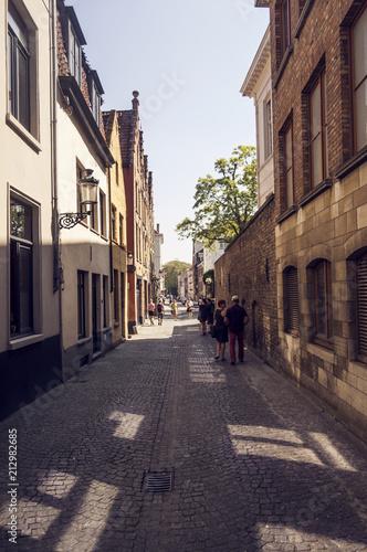 Foto Spatwand Brugge Streets of Bruges