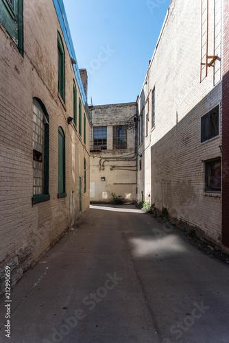 Aluminium Smalle straatjes Old Brick Alley