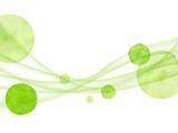 エコロジー 曲線模様 抽象 エコ フレーム 抽象模様 - 212994286