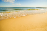 lonesome beach of the Baltic Sea
