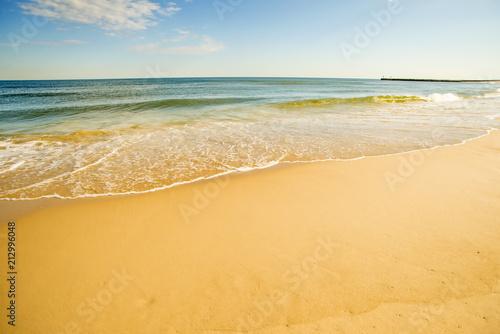Foto Murales lonesome beach of the Baltic Sea