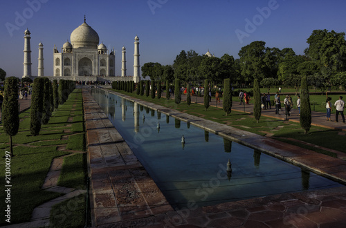 Leinwanddruck Bild The Taj Mahal