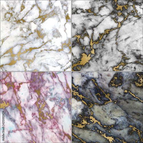 Aluminium Stenen marble texture
