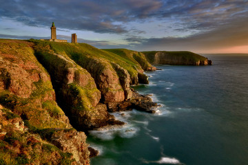 Lighthouse in the Cap Frehel, Brittany, France © janmiko
