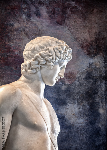 Ancient marble detail