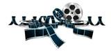 bobina, pellicola, semplice - 213018868