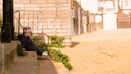 Foto Murales Posing At The Seaside 3