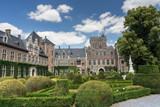 Gaasbeek Castle in Flanders, seen in a day trip from Brussels, Belgium - 213027604