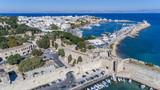Aerial drone photos of Rhodes, Greecec
