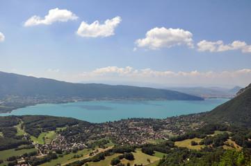 Lac d'Annecy depuis le col de la Forclaz © Clemence Béhier