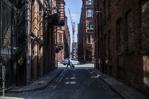 Fototapeta Manchester Streets