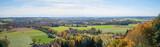 Aussichtspanorama vom Ebersberger Turm, Blick ins Alpenvorland