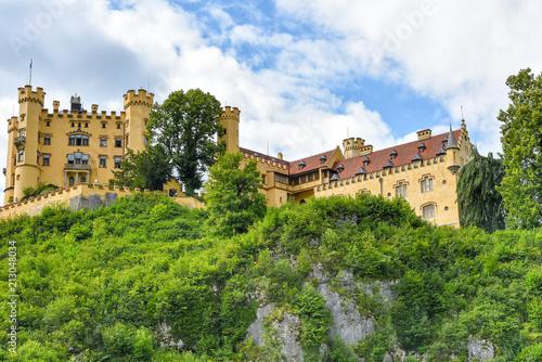 Sticker Schloss Hohenschwanstein